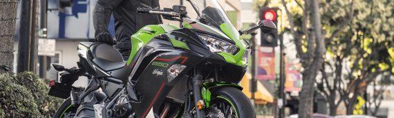 Nieuwe kleuren voor de 2021 Ninja 650