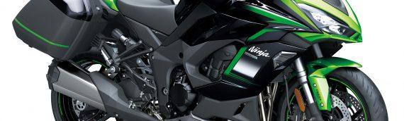 Nieuwe kleuren voor de 2021 Ninja 1000SX